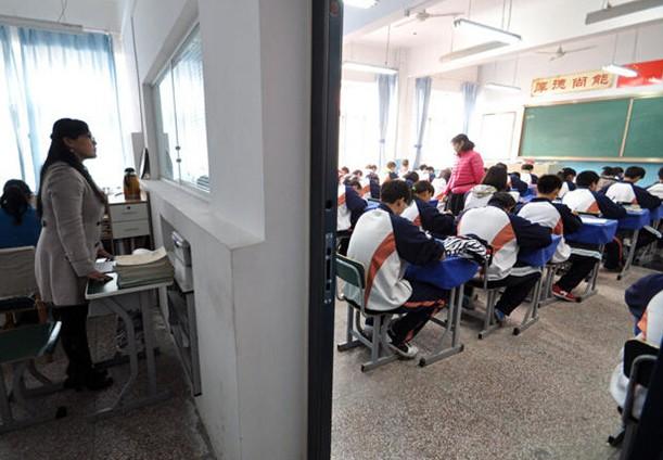 高中同学 教室图片